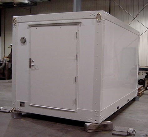 Customer built insulated container