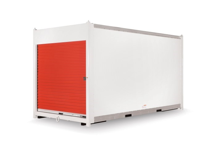 Customer built moving & storage container